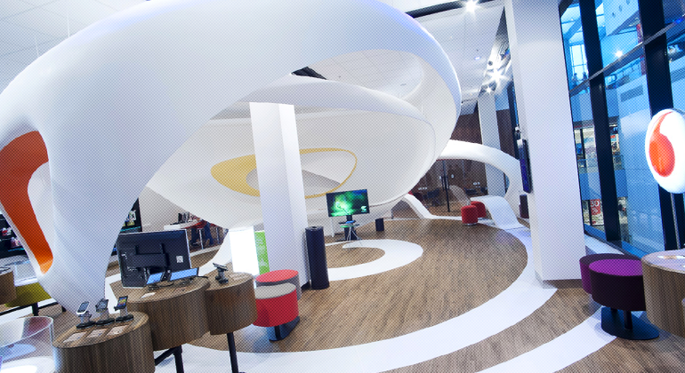 Vodafone Digital Center – New Caroline